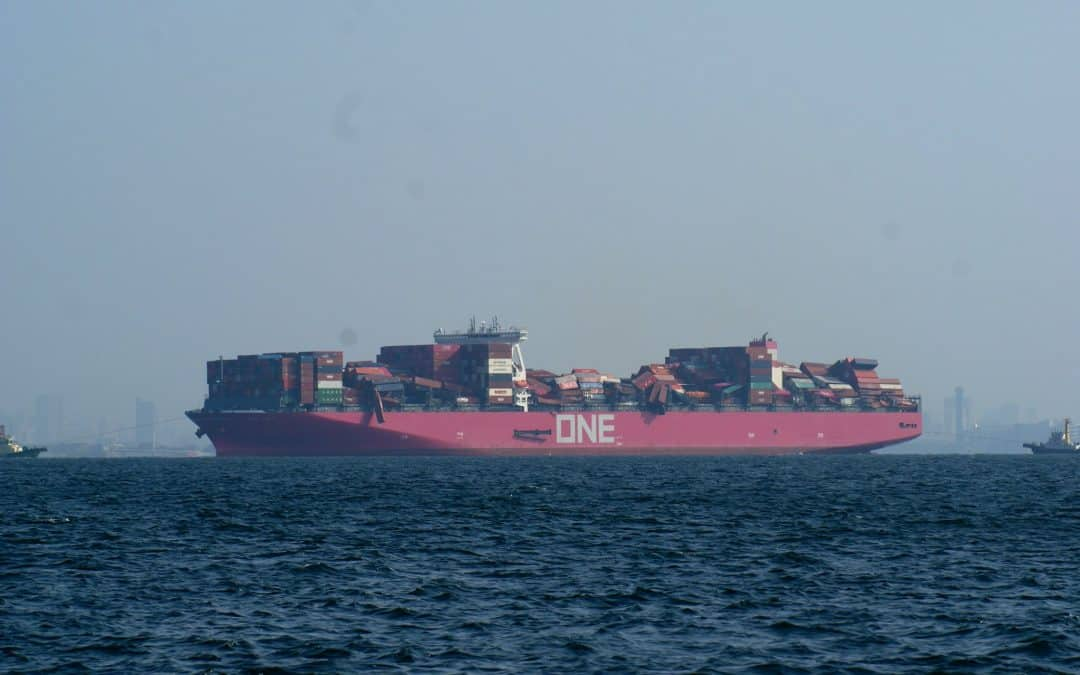 Lost Shipping Containers Reach Seven Year High